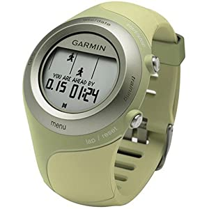 Garmin Forerunner 405 Water Resistant Running GPS With Heart Rate Monitor (Green)