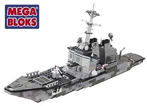 Amazon.com: Mega Bloks - Probuilder Navy Destroyer: Toys ...