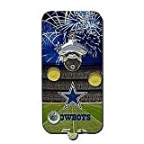 NFL Dallas Cowboys Clink-N-Drink Magnetic Bottle Opener