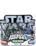 Star Wars 2010 Galactic Heroes 2Pack Senate Guard Aqua Battle Droid