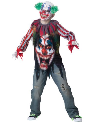 Big Top Terror Child Costume Sm Kids Boys Costume
