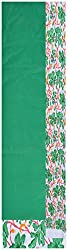Princess Women's Cotton Unstitched Dress Material (Green)