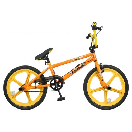 Redemption Mag Wheel Boys BMX Bike - Orange/Yellow, 20 inch