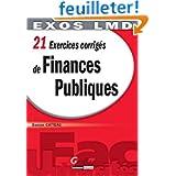 21 exercices corrigés de finances publiques