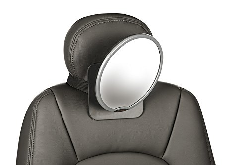 Diono Easy View Back Seat Mirror, Silver
