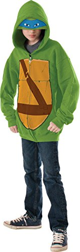 Teenage Mutant Ninja Turtles-Leonardo Kids Hoodie Costume