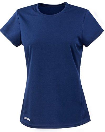 spiro-womens-ladies-sports-quick-dry-short-sleeve-performance-t-shirt-m-navy