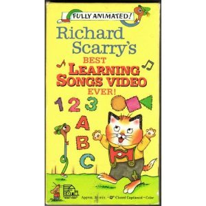Richard scarry 39 s best learning songs video for Best house music ever