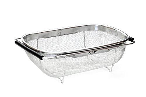 Premier housewares 0509300 scolatoio da lavandino in for Lavandino acciaio inox
