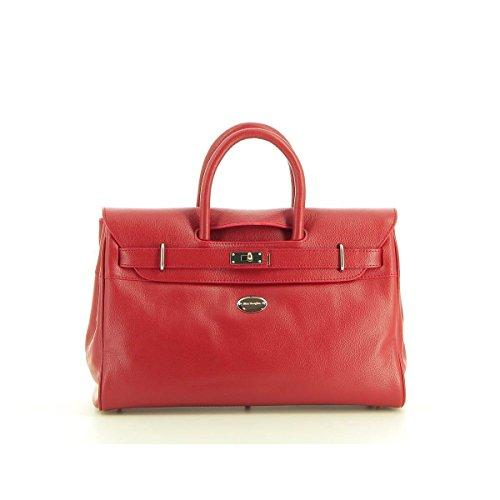 Mac Douglas, Borsa a mano donna, Rosso (rouge-24fr), 27 cm