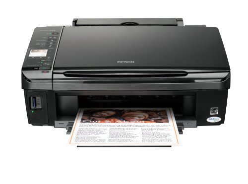Epson Stylus SX218 All-in-One (Print, Scan, Copy) Printer with Individual Ink Technology & LCD screen