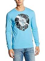 Love Moschino Camiseta Manga Larga (Cielo)