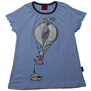 Mr Bean Girls Tops Bean Parachute Blue