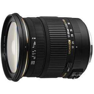 Sigma 58C205 17-50mm F2.8 EX DC HSM Lens for Sony Digital SLR Cameras