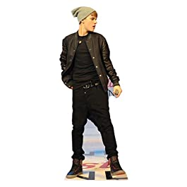 Justin Bieber - Lifesize Cut-Out On Stage (in 168 cm)