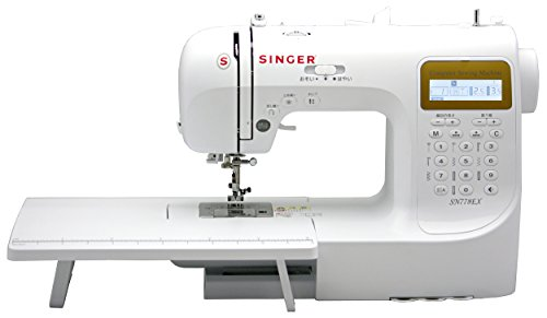 SINGER コンピュータミシン(数字・アルファベット・ひらがな縫い可能) SN778EX