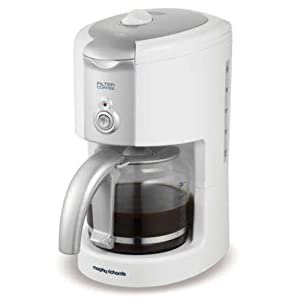 Morphy Richards 47031 Compliments Filter Coffee Maker, White: Amazon.co.uk: Kitchen & Home