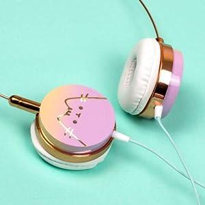 Pusheen, Cat Headphones, PUSHCATPH (Color: Multi)