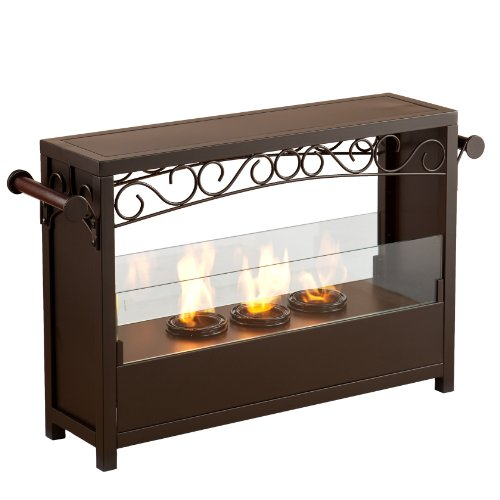 New SEI AMZ1485 Acosta Portable Indoor/Outdoor Fireplace