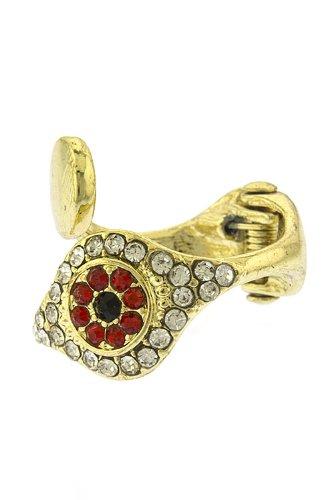 Artcarved Wedding Ring 57 Lovely TRENDY FASHION CRYSTAL SNAKE