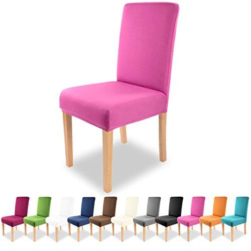 Grfenstayn-Universal-Stuhlhusse-Charles-in-verschiedenen-Farben-fr-runde-und-eckige-Stuhllehnen-Purpur