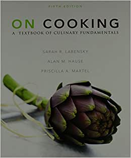 On Cooking & MCL & NRA Cooking/Baking Answer Sheet