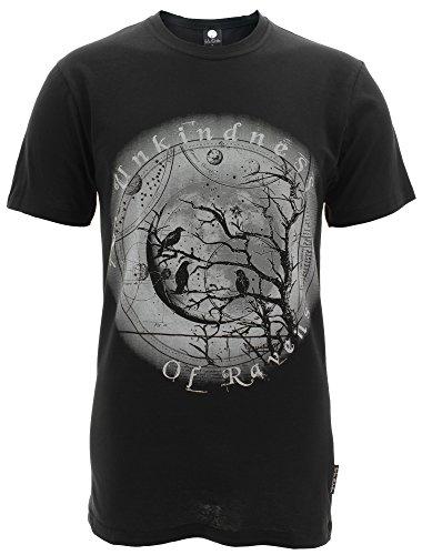 FearlessIllustration -  T-shirt - Maniche corte  - Uomo nero X-Large