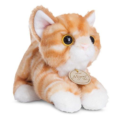 Mi Yoni Plüschtier rot getigerte Katze, Kuscheltier