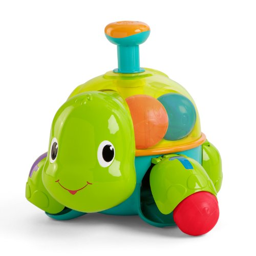 Bright Starts Baby Toy, Drop N Spn Turtle - 1