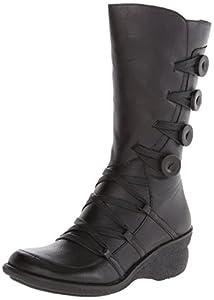 Miz Mooz Women's Olsen Boot, Black, 38 BR/7.5 M US