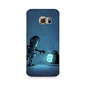 Mobicture Cartoon Premium Designer Mobile Back Case Cover For Samsung S7 Edge