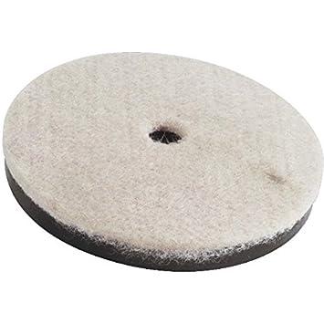 Disque de polissage en feutre diam The Felt Store /épaisseur : 5 mm : 150 mm