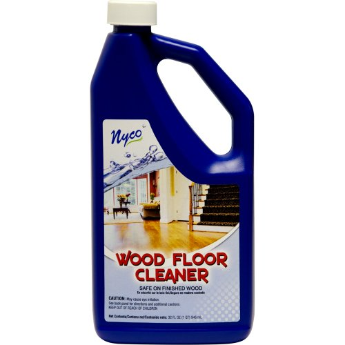 Nyco Products Nl90472 Wood Floor Cleaner, 1 Qt Bottle (Case Of 6) front-520148