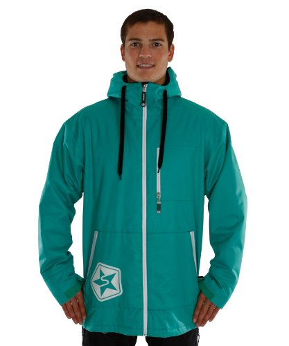 Sessions Men's Tech Star Jacket, Teal, Large