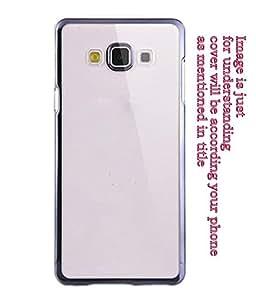 Soft Transparent back cover for Sasmung Galaxy S4 Blue