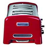 Kitchenaid-5KTT890EER-Grille-Pain-Artisan-4-Tranches-Inox-Rouge
