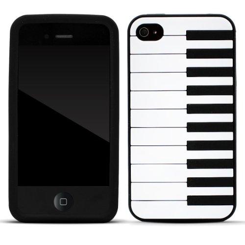 avis zooky noir piano silicone coque tui cover pour iphone 4 4s t moignages et meilleur. Black Bedroom Furniture Sets. Home Design Ideas