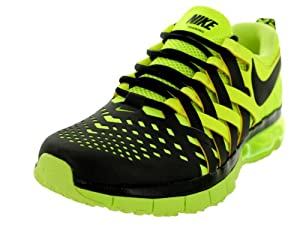 Nike Men's Fingertrap Max Black/Black/Volt Training Shoe 10.5 Men US