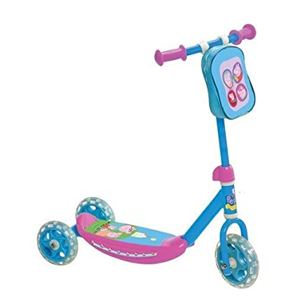 Mondo - 28051 - Patinette - My First Scooter + Sac Peppa Pig