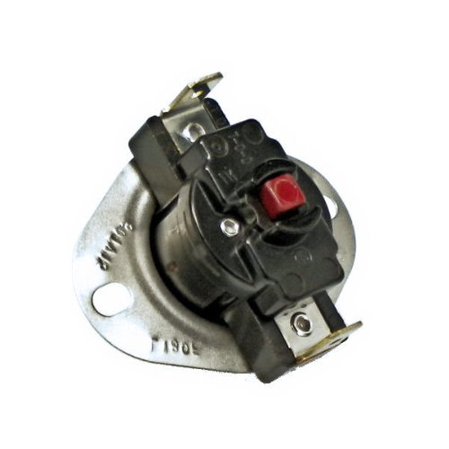 Furnace Rollout Limit Switch L180F Onetrip Parts® Direct Replacement For York Coleman Evcon Luxaire S1-7624A3591 front-521884