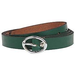 Exotique Women's Green Casual Belt
