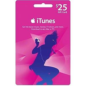 $25 itunes gift card  アップル iTunes カード北米版 $25 (iTunes...