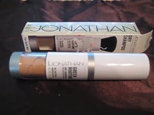 Jonathan Product Green Rootine Dry Shampoo Brush On Powder - (For Dark Hair)