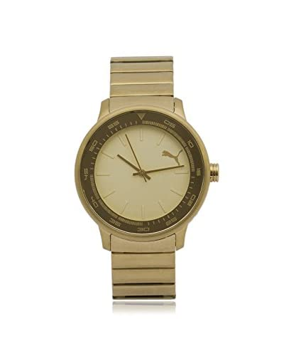 Puma Men's PU103412002 Gold Stainless Steel Watch