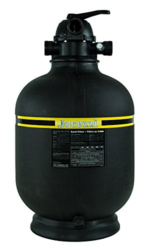 "Jacuzzi Laser 19"" Inch Above Ground Swimming Pool Sand Filter w/7-Way Valve"