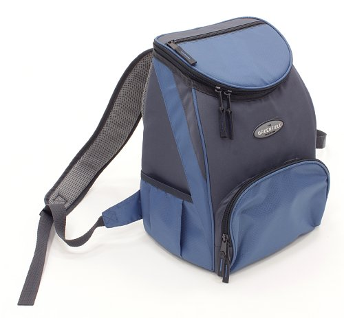 Greenfield Collection Deluxe Lightweight Backpack Cool Bag - Powder Blue