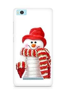 Amez designer printed 3d premium high quality back case cover for Xiaomi Mi5 (Snow Man 2)