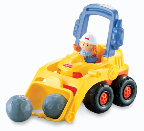 Fisher-Price Little People Bulldozer - 1
