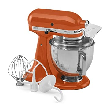 KitchenAid KSM150PSPN Artisan 5-Quart Stand Mixer (Persimmon)