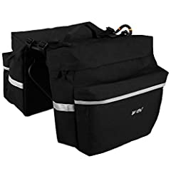 BV Bicycle Panniers feature large zippered pockets, 3M Scotch Lite reflective trim and a handy carrying handle for off-road use.  Its angled pocket design ensures that cyclists have ample pedaling space, while four shelf straps sewn onto the ...